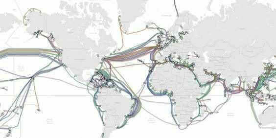 harta internetului Harta internetului – cum arata cablurile de sub oceane harta internetului