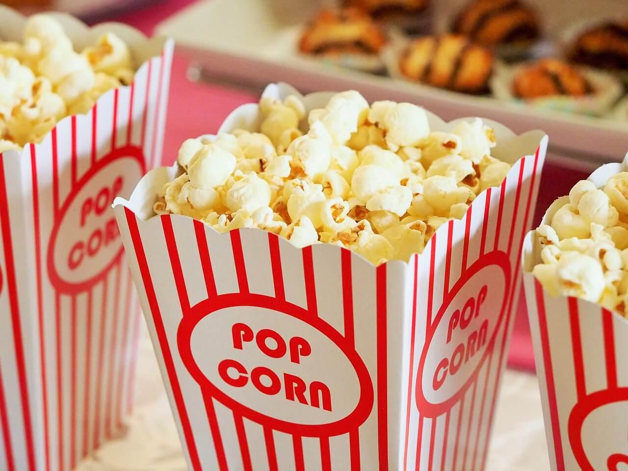 popcorn in cinema